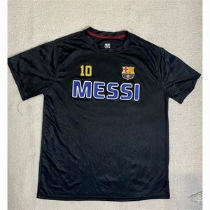 Youth FCB Barcelona Lionel Messi #10 Black Jersey